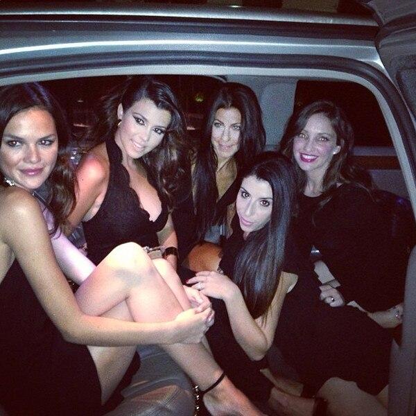Kourtney Kardashian, Las Vegas, Instagram