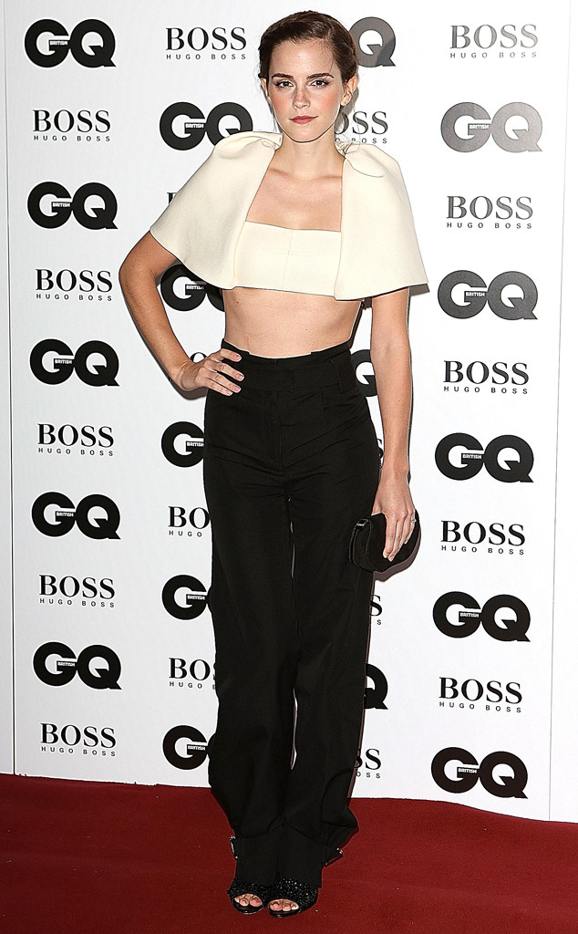 Emma Watson, GQ Men of the Year Awards