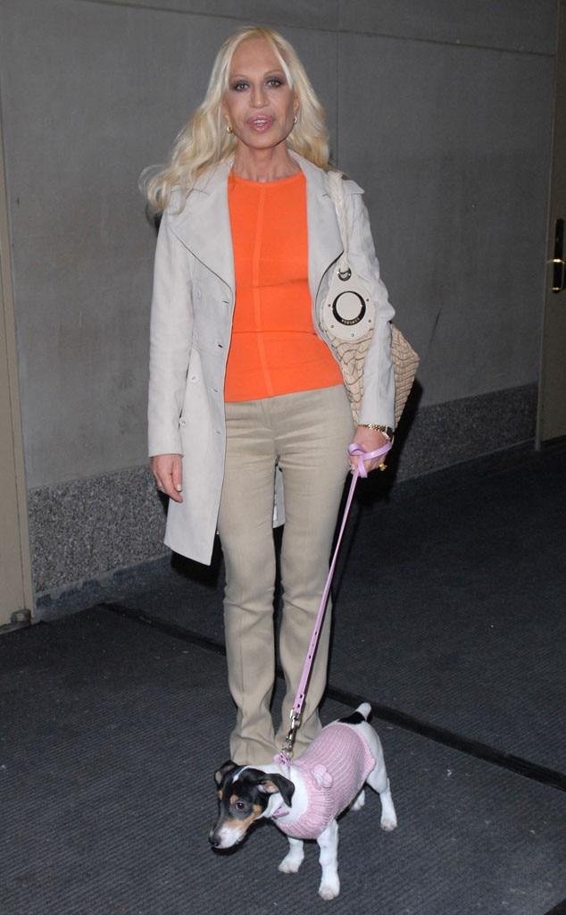 Donatella Versace, Dog