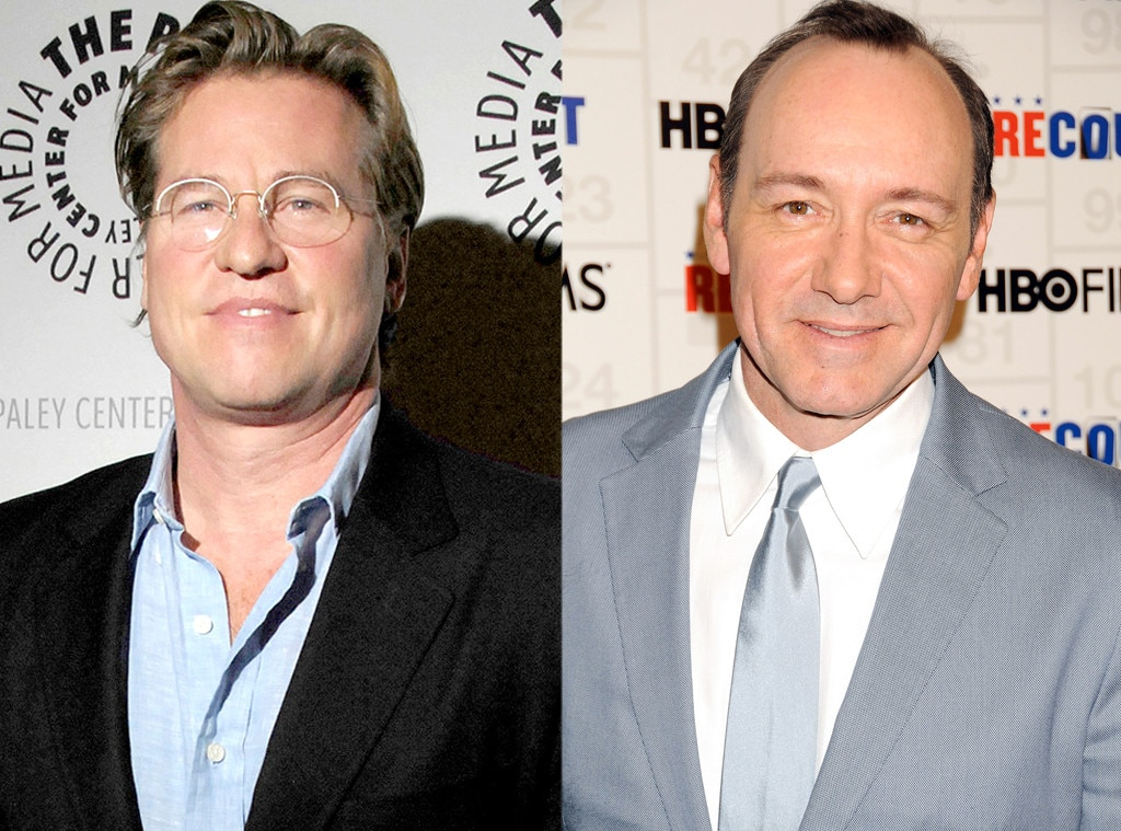Kevin Spacey, Val Kilmer, Famous Classmates