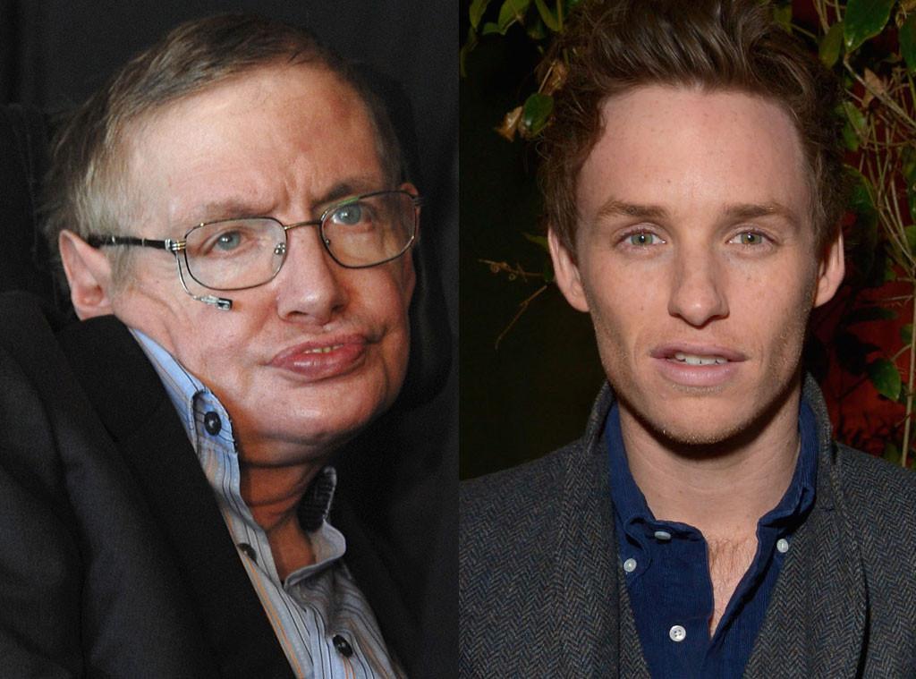 Eddie Redmayne, Stephen Hawking