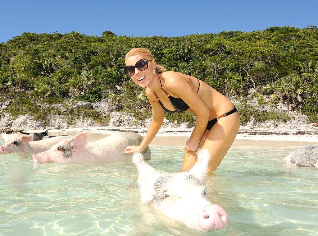 Gretchen Rossi, Pigs