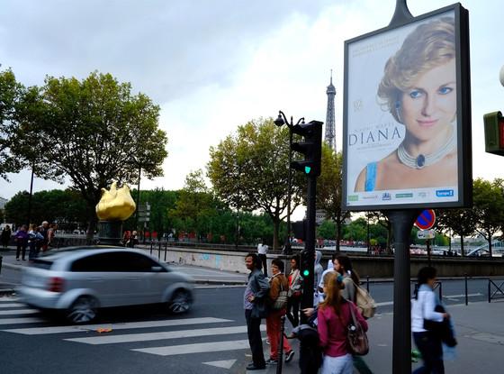 Princess Diana, Pont de L'Alma