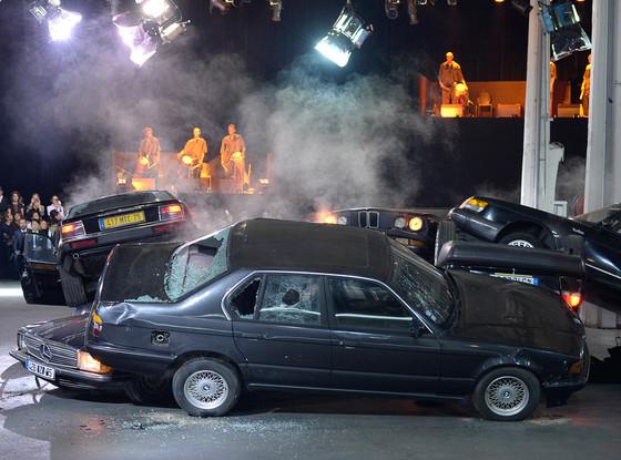 Givenchy Car Crash, Paris Fashion Week