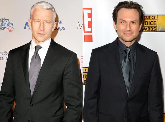 Anderson Cooper, Christian Slater, Famous Classmates
