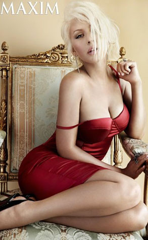 Christina Aguilera, Maxim