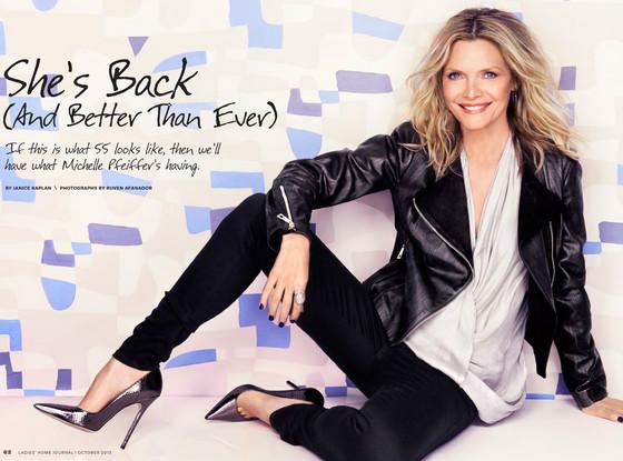 Michelle Pfeiffer, Ladies Home Journal