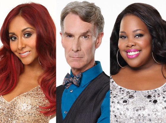 Dancing With The Stars, DWTS, Season 17, Nicole Snooki Polizzi, Bill Nye, Amber Riley
