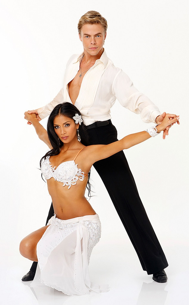 Derek Hough, Nicole Scherzinger, Dancing with the Stars