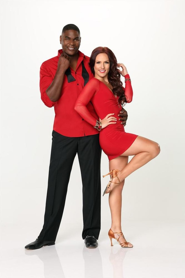 Dancing With The Stars, DWTS, Season 17, KEYSHAWN JOHNSON & SHARNA BURGESS