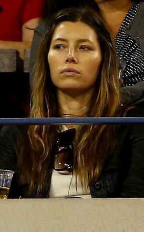 Jessica Biel, US Open