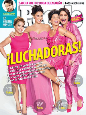 People en Español, Adamari López, Lorena Rojas, Alejandra Guzmán, Daniela Romo