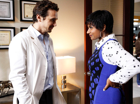 James Franco, Mindy Kaling, The Mindy Project