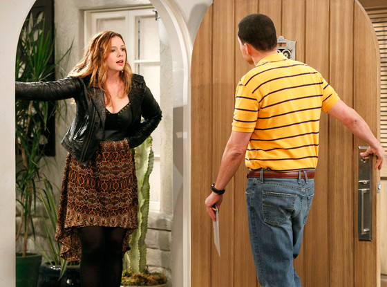Amber Tamblyn, Jon Cryer, Tow and a Half Men