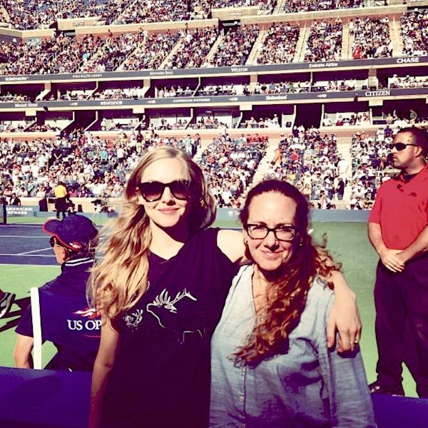 Amanda Seyfried, U.S. Open