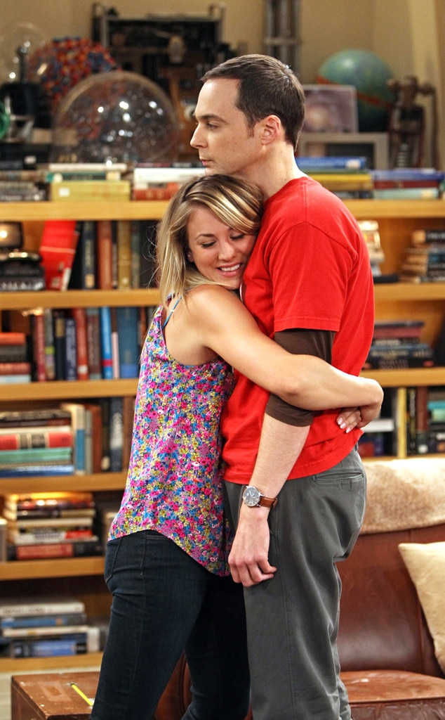 Kaley Cuoco, Jim Parsons, The Big Bang Theory