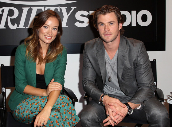 Olivia Wilde, Chris Hemsworth