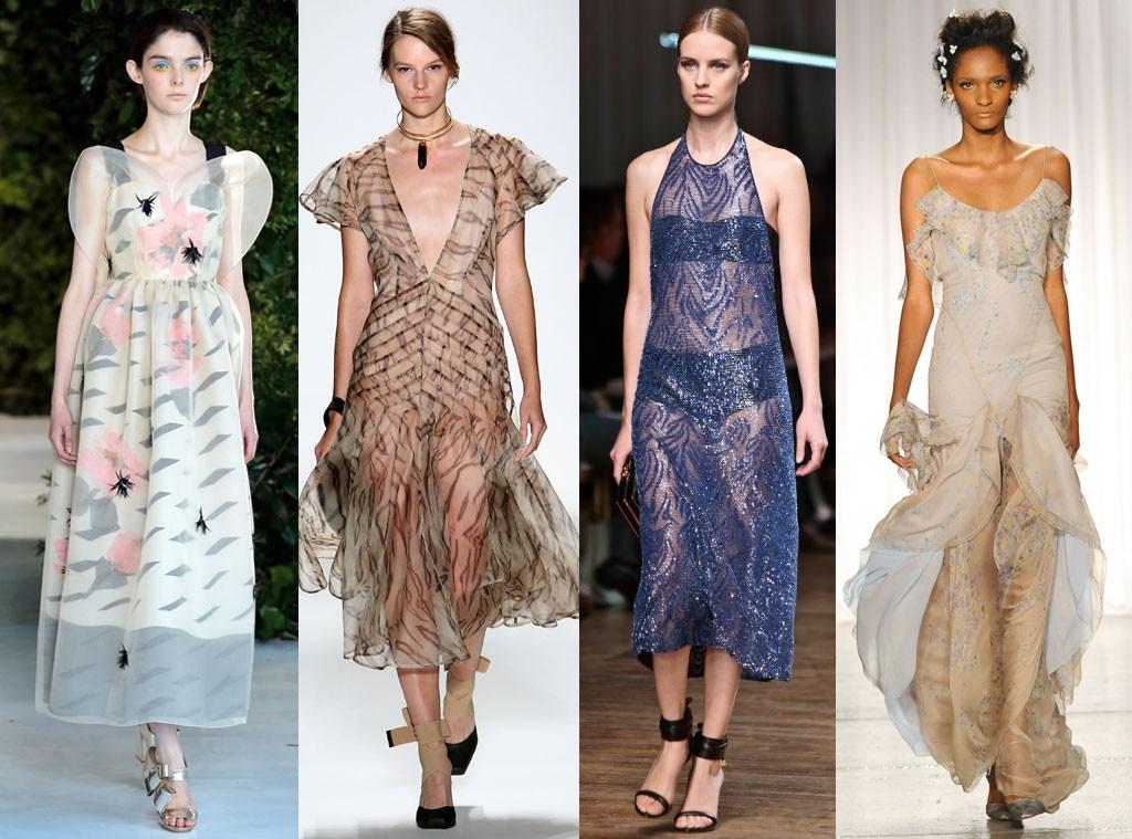 Sheer Trend, Fashion Week