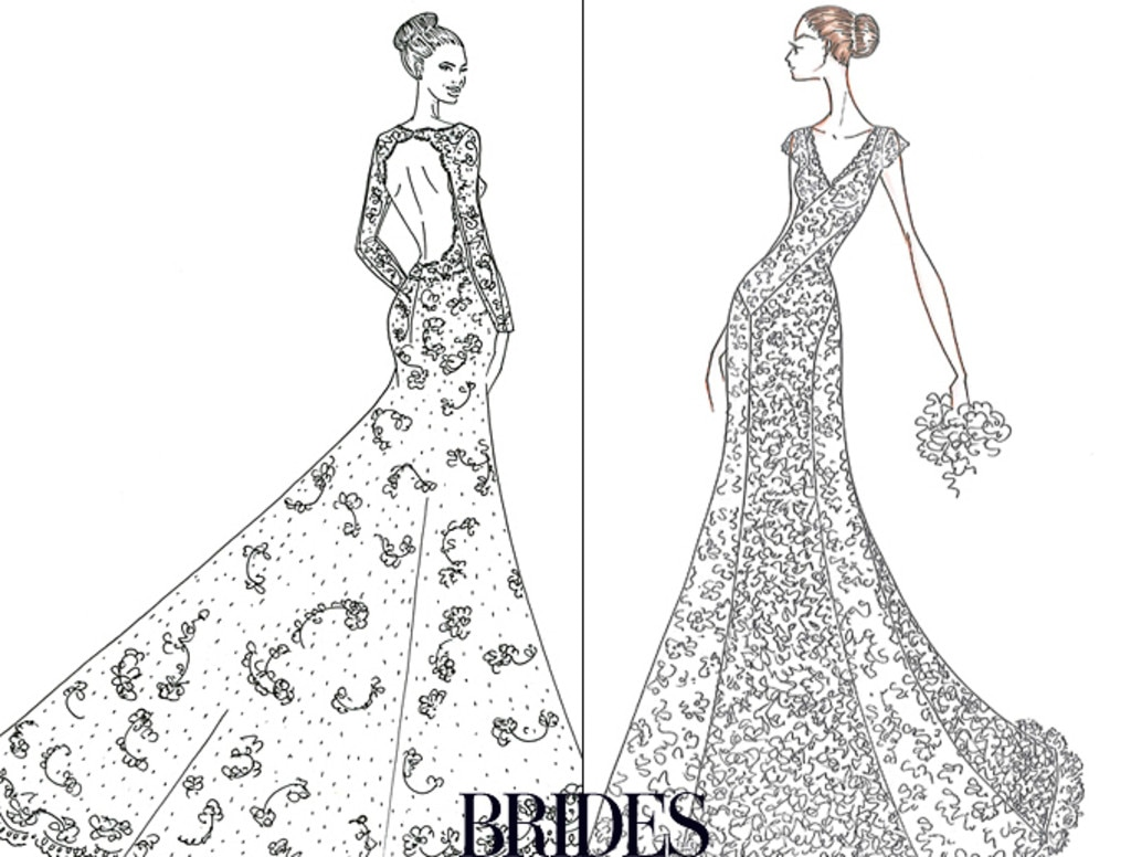 Alfred Angelo from Bridal Showdown: Wedding Dress Sketches for ...