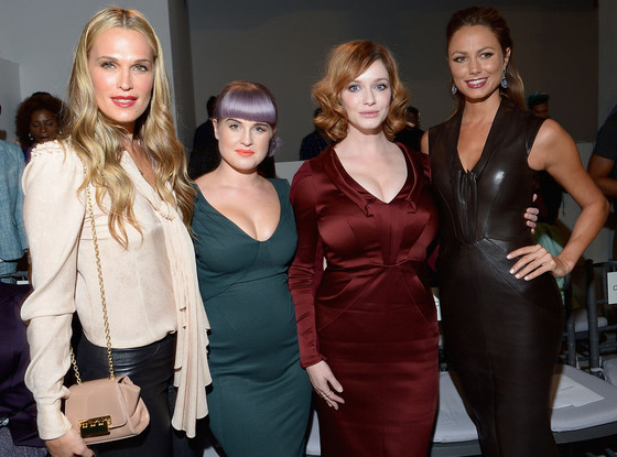 Molly Sims, Kelly Osbourne, Christina Hendricks, Stacy Keibler, Fashion Week