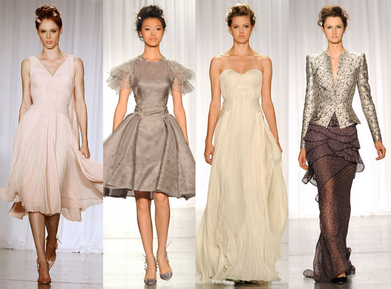 Zac Posen Models, Fashion Week