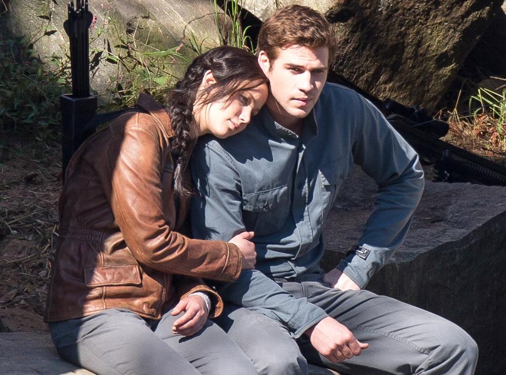 Jennifer Lawrence, Liam Hemsworth, Hunger Games