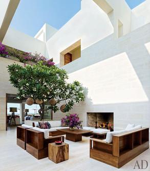 Cindy Crawford, Rande Gerber, Architectural Digest