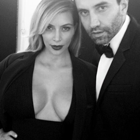 Kim Kardashian, Riccardo Tisci