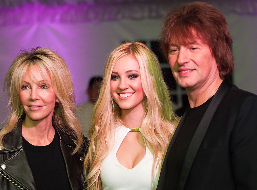Heather Locklear, Richie Sambora, Ava