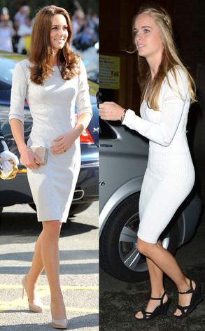 Kate Middleton, Duchess Catherine, Cressida Bonas