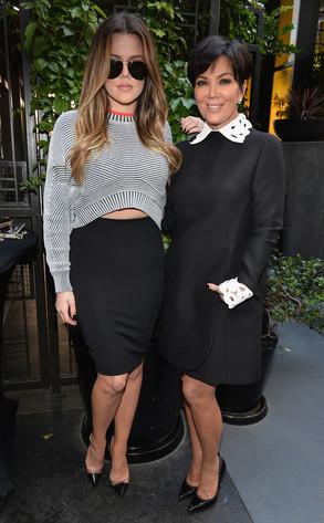 Khloe Kardashian Odom, Kris Jenner