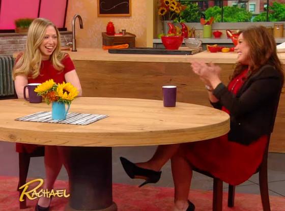Chelsea Clinton, Rachael Ray