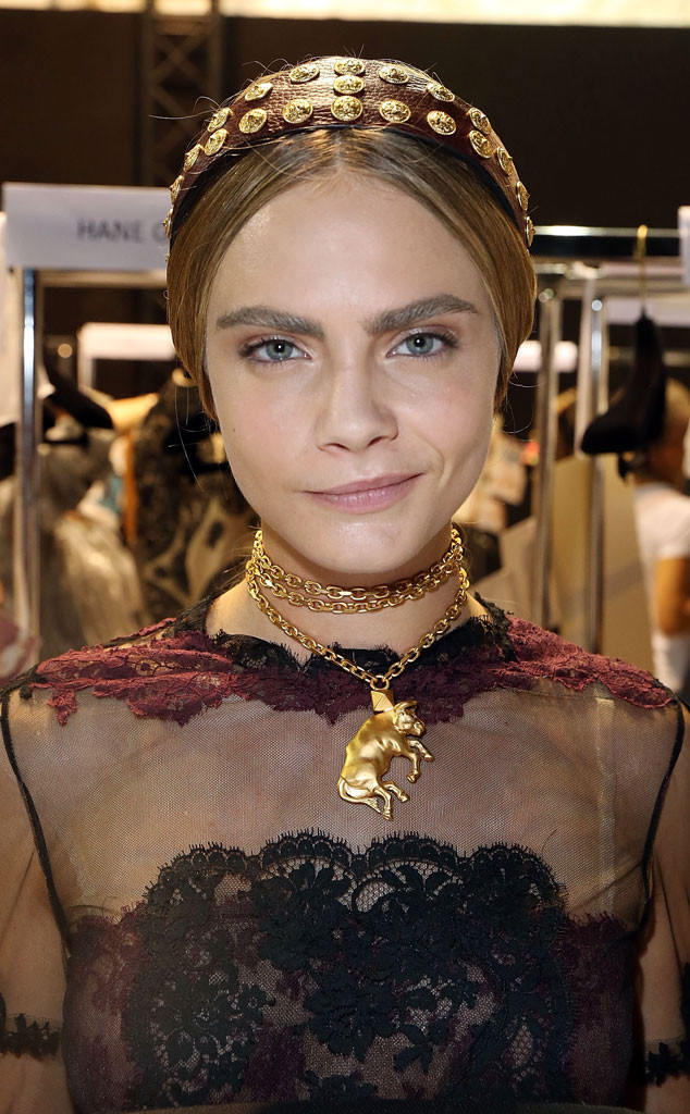 Guess the Celebrity Eyebrows, Cara Delevingne