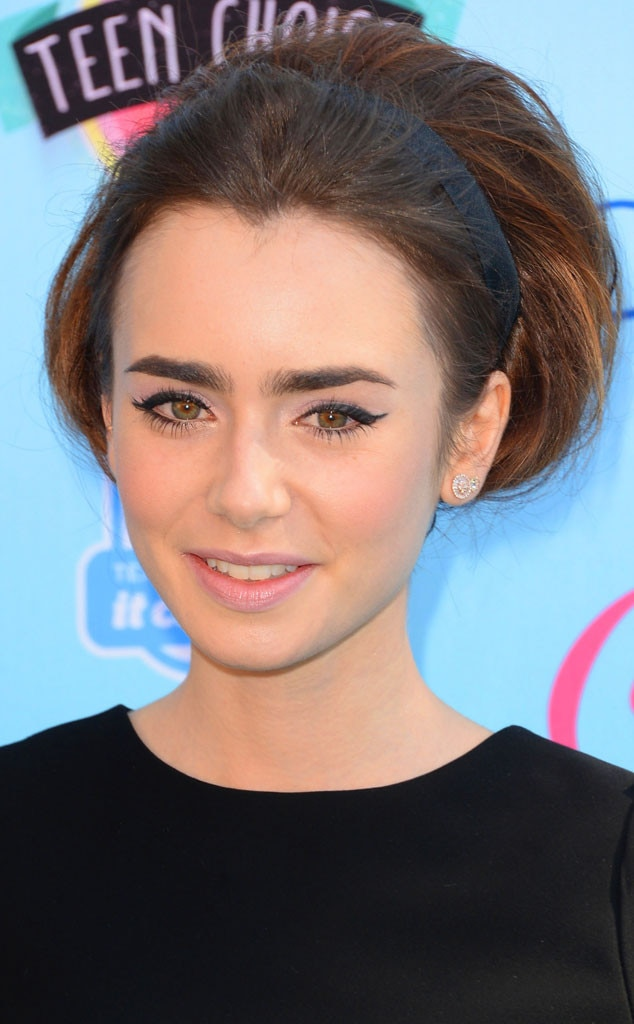 Guess the Celebrity Eyebrows, Lily Collins