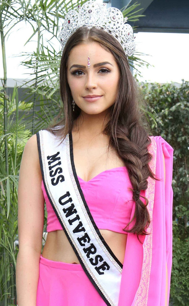 Olivia Culpo -  Miss Universe 2012 was accused of violating India's Heritage Act after allegedly doing a little commercial modeling without permission in front of the Taj Mahal.