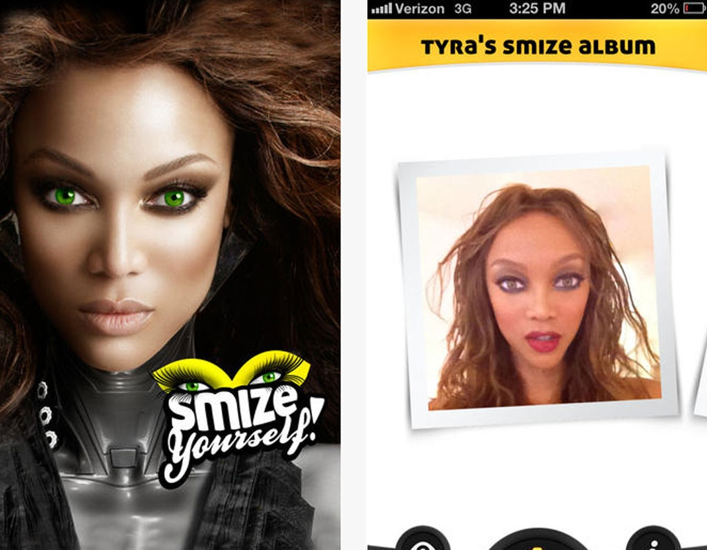 iTunes App, Smize Yourself!