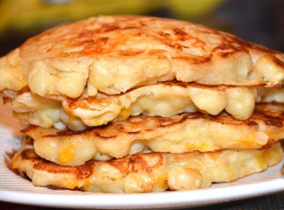 Macaroni 'n' Cheese Pancakes