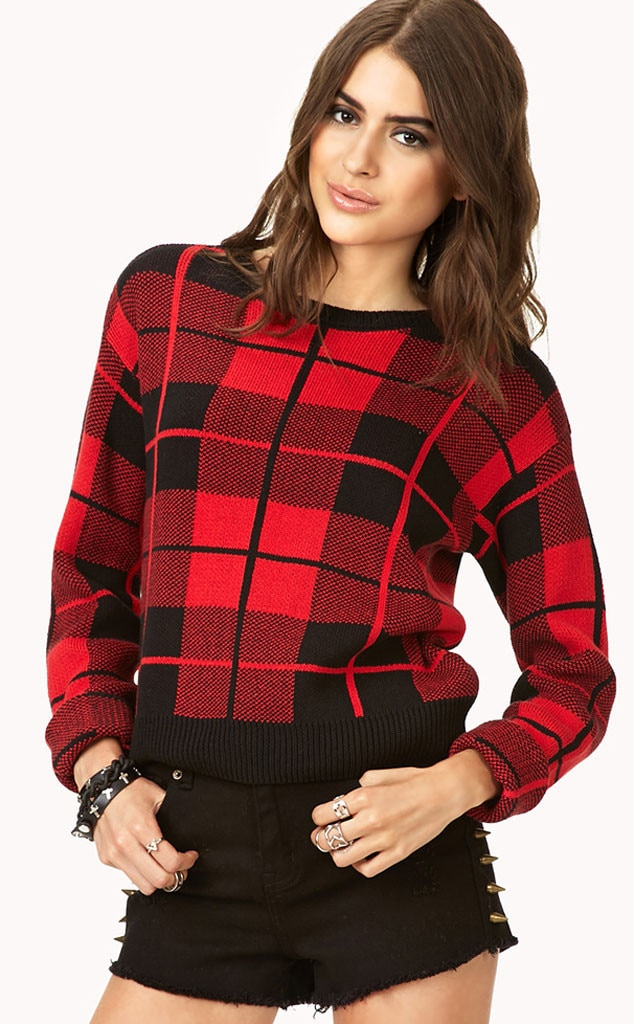 Splurge vs. Steal, Plaid Sweater Answer