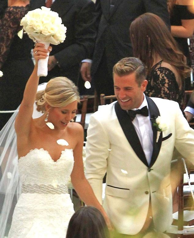 Jason Wahler, Ashley Slack, Wedding