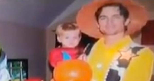 Matt Bomer Family Halloween