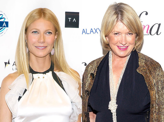 Gwyneth Paltrow, Martha Stewart
