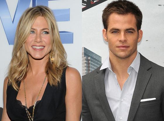 Jennifer Aniston, Chris Pine