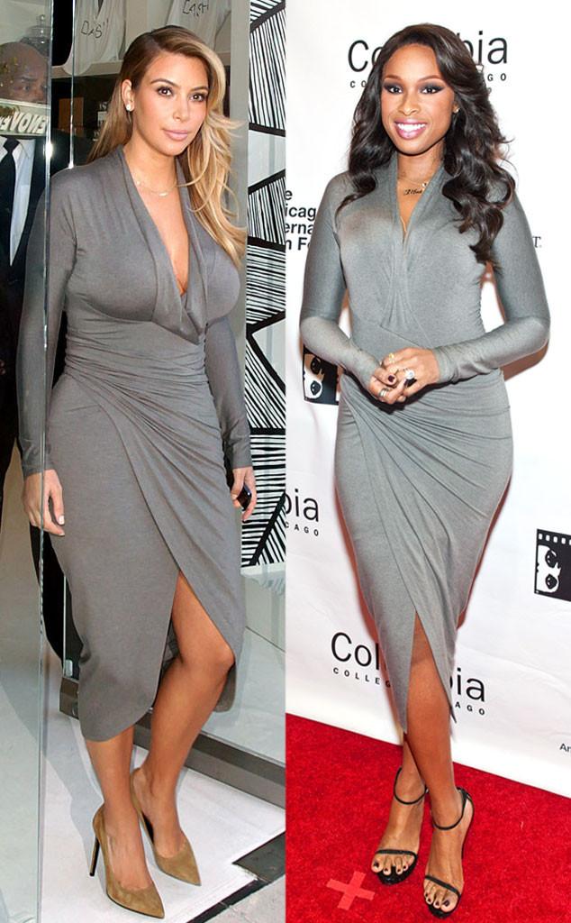 Kim Kardashian, Jennifer Hudson