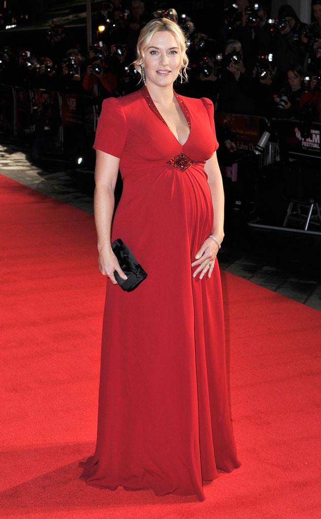 Kate Winslet dá à luz seu terceiro filho