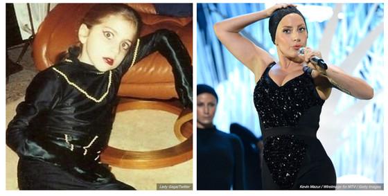 Cantores antes da fama, famosos antes da fama