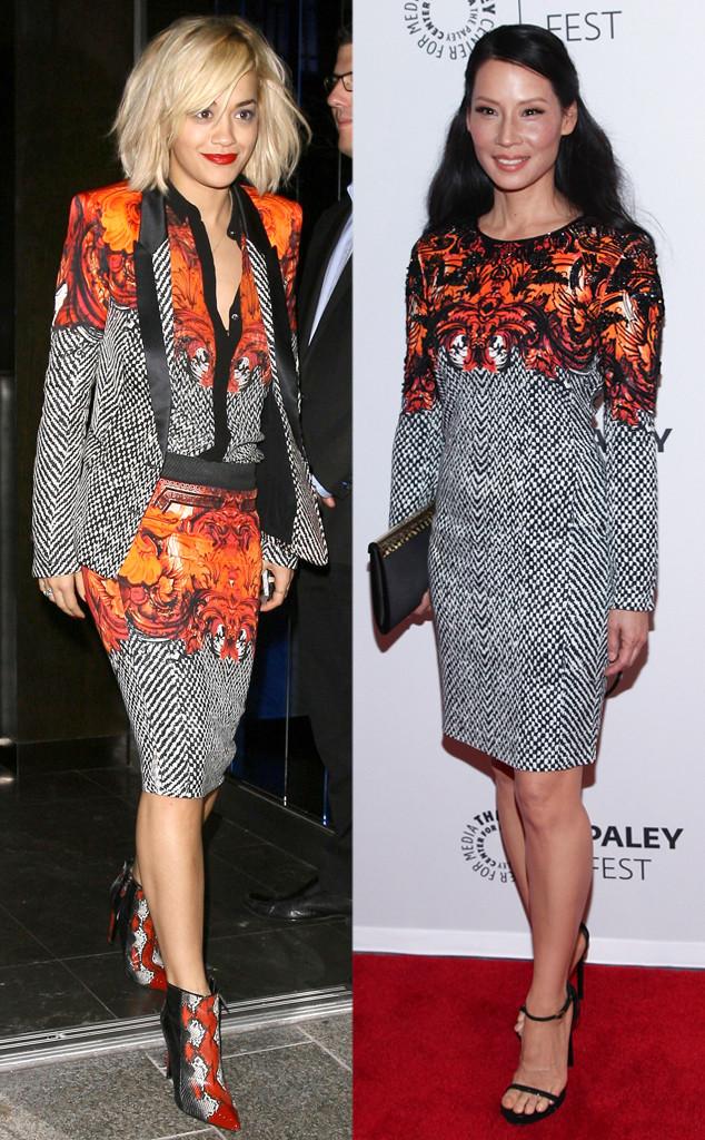 Rita Ora, Lucy Liu