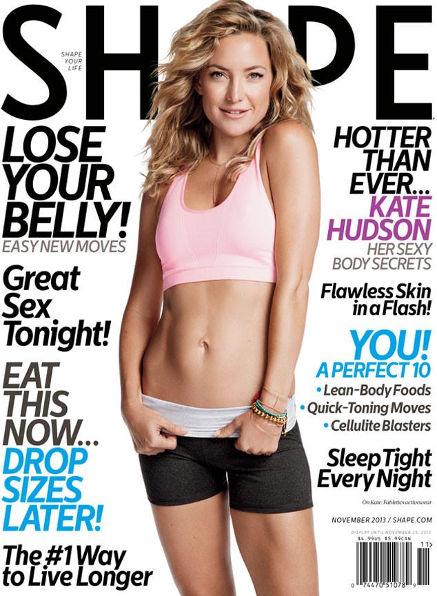 Kate Hudson, Shape Magazine
