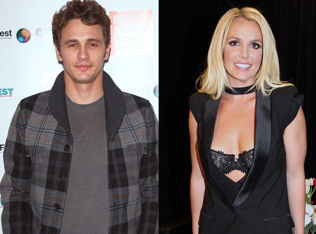 Britney Spears, James Franco