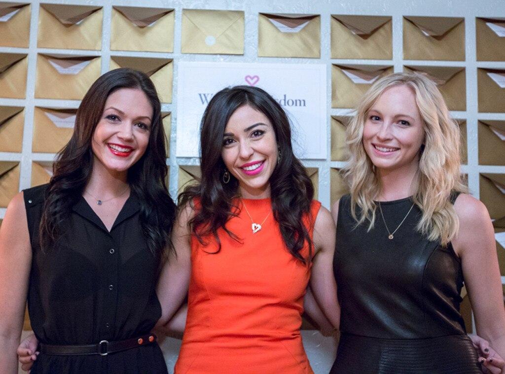 Desiree Hartstock, Candice Accola, Kelle Khalil