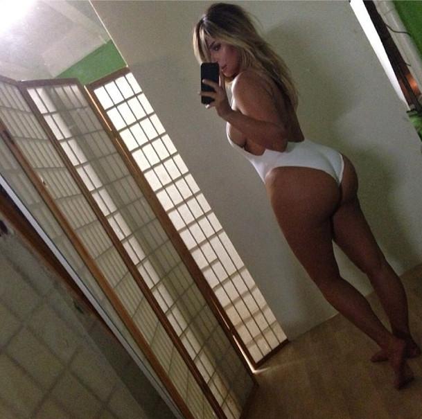 Kim Kardashian, Kim Kardashian corpo, Instagram